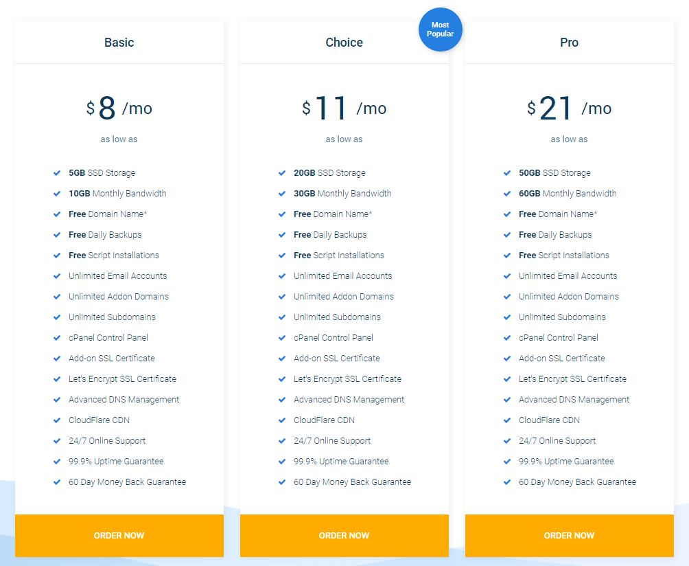 Mommy Host Pricing